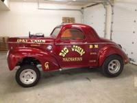 1941 Willys Custom. Big John Mazmanians AA GS 1941