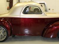 Body: Fiberglass. No wood, the same in and out