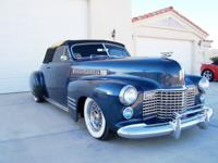 1941 Cadillac Convertible 62 Deluxe Restored.  FOR SALE