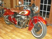1941 Matching Numbers Barn Find Indian Chief. The