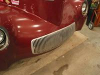 1941 Willys grill with hardware. Aluminized, polycast