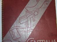 "1942 Bay City Central High School Yearbook ""Centralia"""