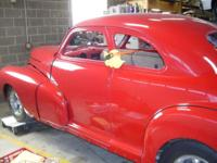 1942 CHEVROLET 2DR COUPE RUST FREE CAR UNFINISHED