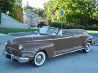 1942 Chrysler Crown Imperial C37 8 Passenger