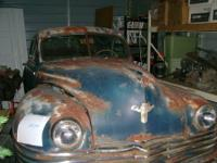 1942 CHRYSLER BUSINESS COUPE IN VERY GOOD SHAPE. ONLY