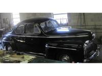1942 Ford Super Deluxe Coupe, RARE!. black with one