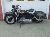 This is a belly numbers matching 1942 knucklehead.