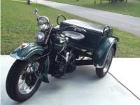 1942 Harley-Davidson Servi Car Classic / Vintage1942