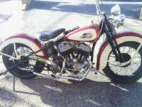 Beautifully cared for 1942 Harley Davidson, WLA