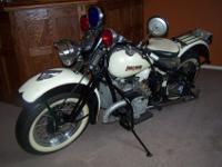 This is an original, renowned Harley Davidson XA