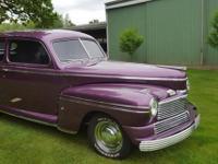 1942 Mercury RestoRod (WA) - $34,900 Exterior: Royal