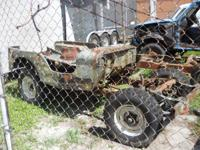 Willy Jeep CJ-2 was taken apart to bring back and never
