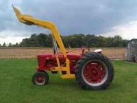 Up for sale is a very nice Farmall H with a Freeman