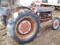 2N Ford tractor for sale Runs good, new muffler, fluid