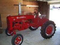 For Sale 1943 Farmall A Restored to show qualitly. New