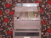 This is a NCR cash register made in 1943. Ones like it