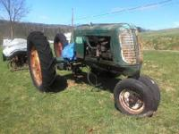 "1943 oliver 70 row crop ""warrior"" model s/n 247017. 40"""