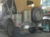This is an archetype of a WWII military jeep - a 1943