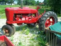 1944 Farmall M,runs and looks great.. Location: minford