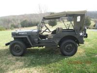 1944 Willys Military Jeep Model MB-For a faster respond