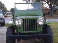 1945 Willys Jeep all original drives and works
