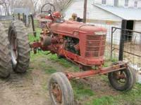 Selling a 1945 Farmall / IH H. Original International