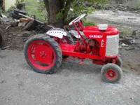 1945 Garden All tractor. Antique, Rare tractor Built in