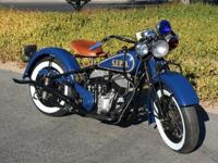 1945 Indian Chief San Francisco Police