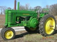 1945 John Deere Model A, (slant dash) runs excellent