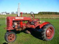 "1945 Farmall ""B"" Cultivision. Runs good. Ready for"