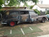 I HAVE FOR SALE A 1946 BUICK HIPPIE HEARSE BODY ONLY -