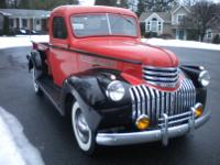 1946 Chevy pickup short bed half ton  truck this truck