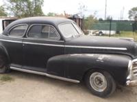 1946 Chevy Fleetmaster 2 Door Coupe All initial post