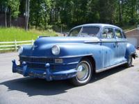 1946 Chrysler Model 715 - Old military Navy car. Solid
