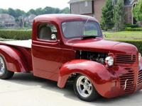 This stunning 46 Dodge Restomod Truck was acquired from