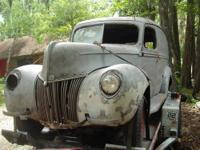"1946 Dodge truck, hot rod, rat rod. Roof chopped 5"","