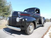 1946 Ford F-100 Pickup 2 Door Black1946 Ford F.1 Pickup