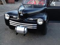 I am hesitantly selling my 1946 Ford Tudor sedan. It