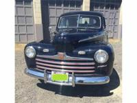 Year : 1946 Make : Ford Model : Super Deluxe Exterior