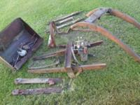 1946 ford tractor with loader runs good. call asking