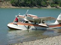 A good condition 1946 G44A Widgeon with Lockheed