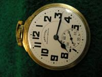"This is a Hamilton ""Railway Special"" pocket watch with"