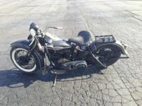 1946 HARLEY DAVIDSON EL KNUCKLEHEAD WITH 48K ORIGINAL