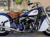 1946 INDIAN CHIEFCOMPLETELY RESTOREDMATCHING
