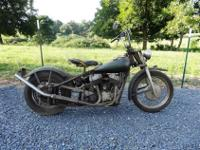 1946 INDIAN CHIEF BOBBER - LOOKS LIKE A HARLEY