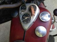 1946 ORIGINAL INDIAN WITH ORIGINAL RED PAINT HAS NOT