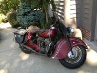1946 INDIAN CHIEF RED ORIGINALTHIS IS FOR A 1946