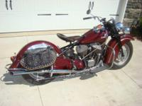 1946 Indian Chief. I have a clear Ohio title in my