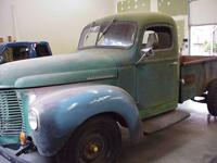 1946 International Harvester K2 Pick-up. Offering my