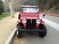 1946 Jeep Willys CJ-2 2.2L-For a faster respond please